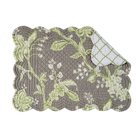 Annabelle Rectangular Quilted Placemat Thumbnail