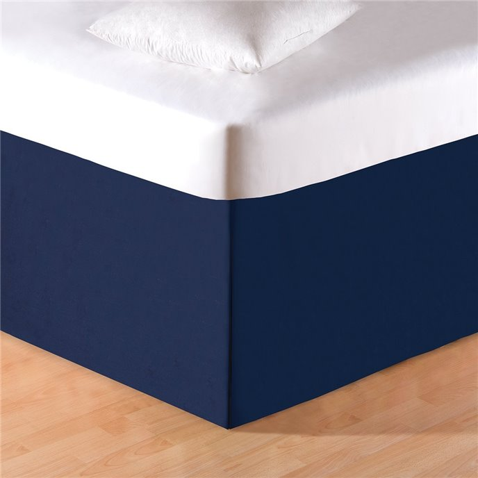 Navy Blue King Bedskirt Thumbnail
