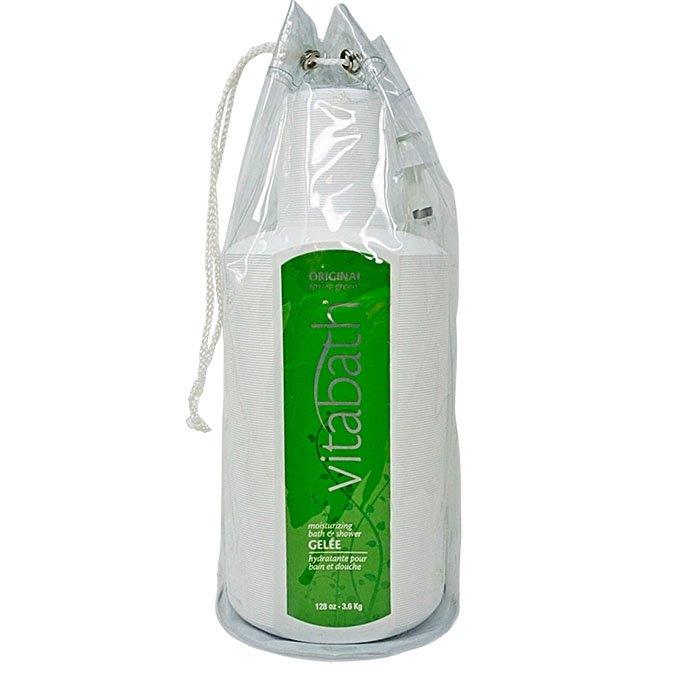 Vitabath Original Spring Green Gallon Size Moisturizing Bath & Shower Gelee (128 oz) Thumbnail