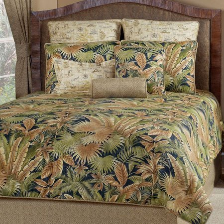 Bahamian Nights Queen size Bedspread Thumbnail