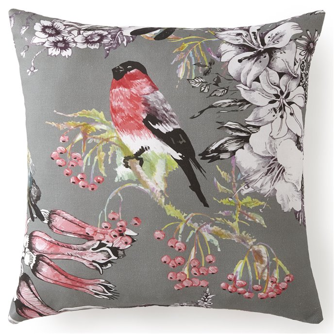 "Birds In Bliss Square Cushion 18""x18""- Birds Thumbnail"