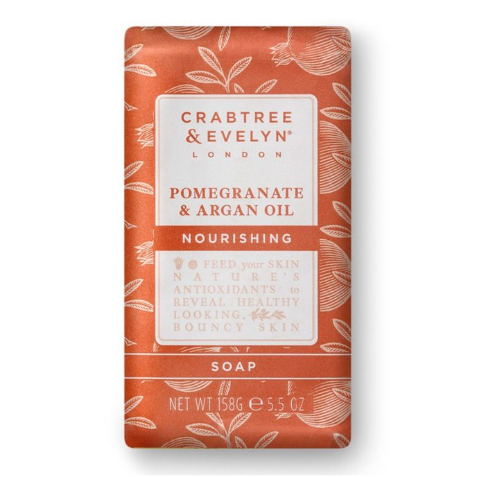Crabtree & Evelyn Pomegranate & Argan Oil Triple Milled Soap Thumbnail