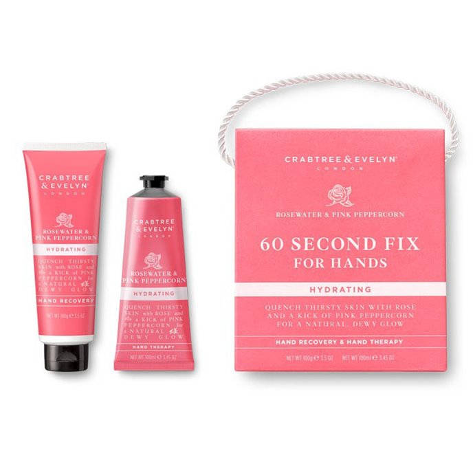 Crabtree & Evelyn Rosewater & Pink Peppercorn 60-Second Fix for Hands Thumbnail