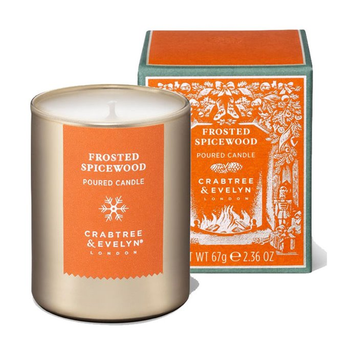 Frosted Spicewood-Mini Candle by Crabtree & Evelyn Thumbnail