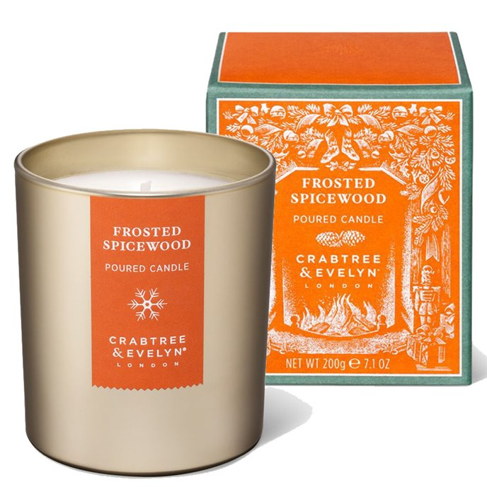 Frosted Spicewood Candle by Crabtree & Evelyn Thumbnail