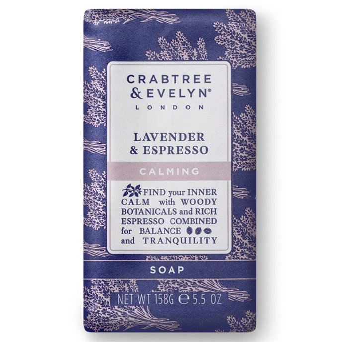 Crabtree & Evelyn Lavender & Espresso Triple Milled Soap Thumbnail