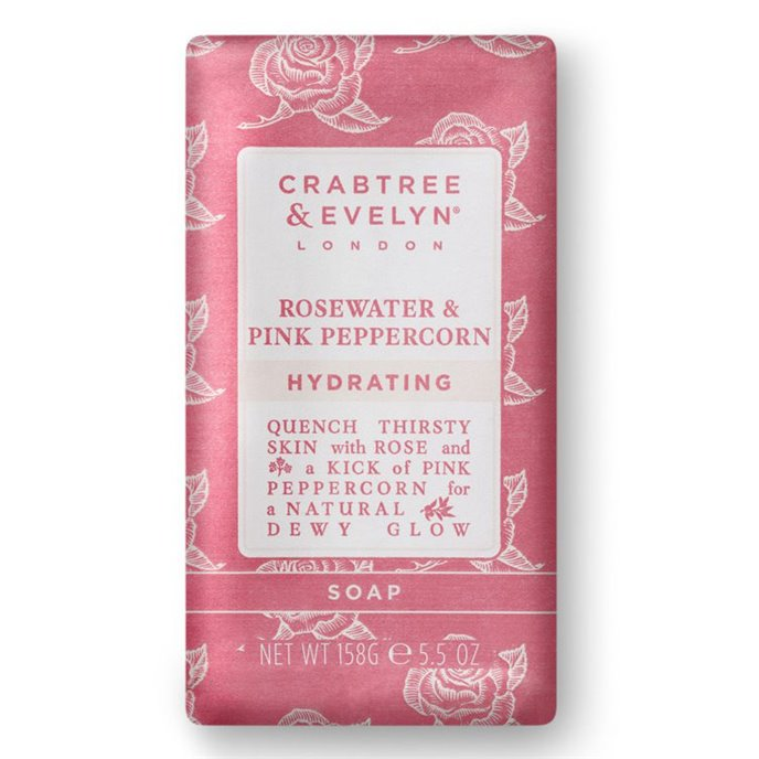 Crabtree & Evelyn Rosewater & Pink Peppercorn Triple Milled Soap Thumbnail