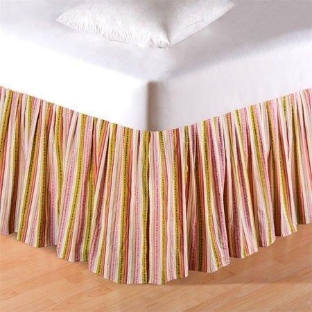 Celine Stripes King Bedskirt Thumbnail