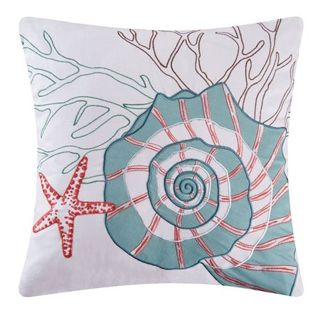 Seabrook Nautilus Pillow Thumbnail
