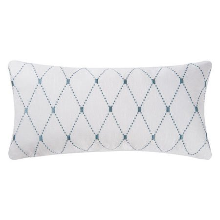 Barbados Sea Aqua Diamond Pillow Thumbnail