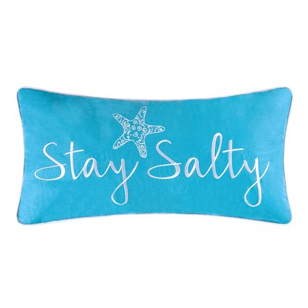 St. Kitts Stay Salty Pillow Thumbnail