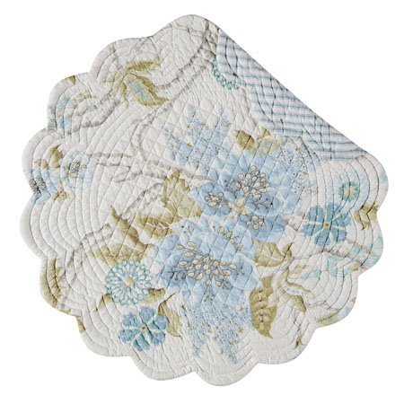 Jesamine Round Quilted Placemat Thumbnail