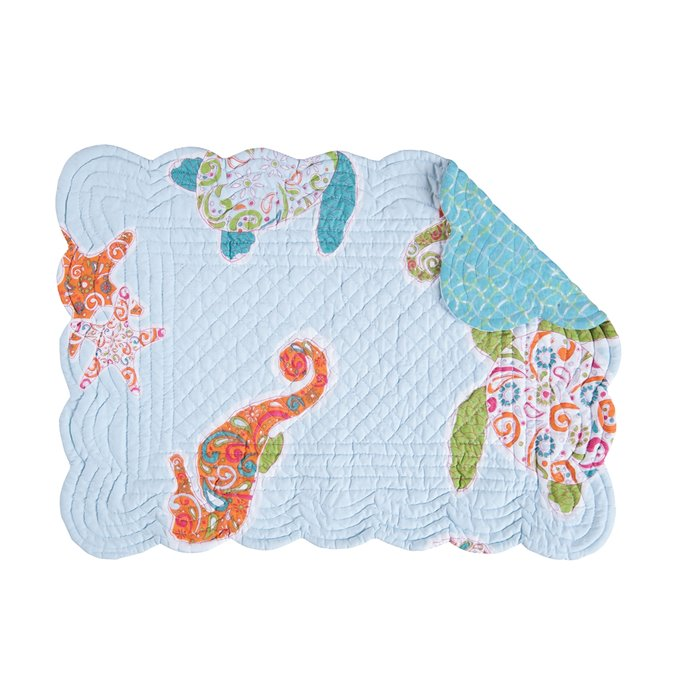 St. Kitts Rectangular Quilted Placemat Thumbnail