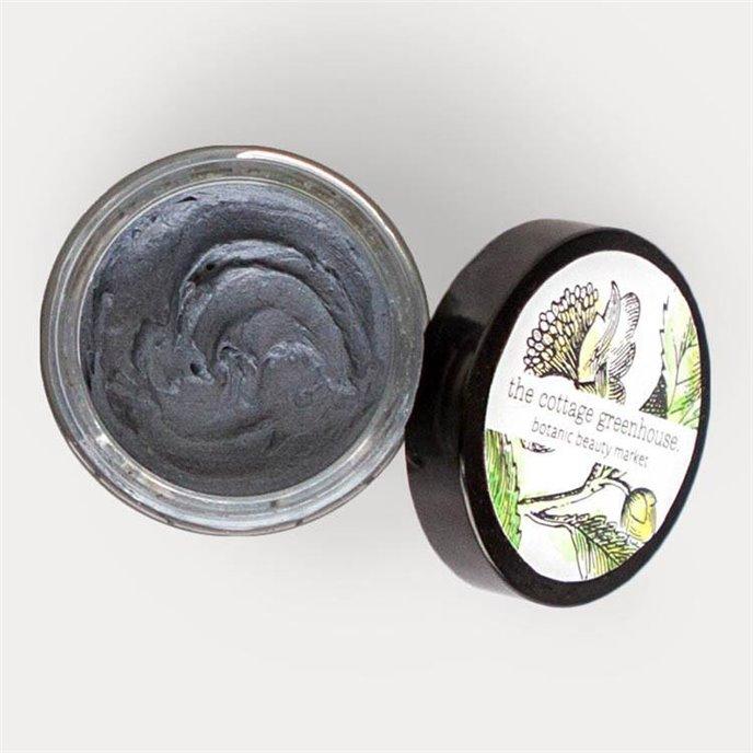 The Cottage Greenhouse Charcoal & Lemongrass Face Mask Thumbnail