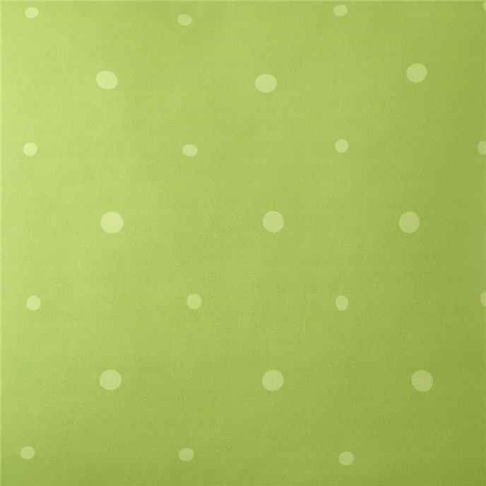 Poppy Plaid Green Polka Dot Fabric Per Yard Thumbnail
