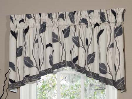Yvette Eclipse Lined Crescent Swag Valance Thumbnail