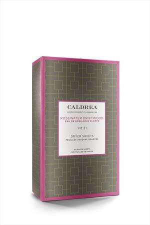 Caldrea Rosewater Driftwood Dryer Sheets Thumbnail