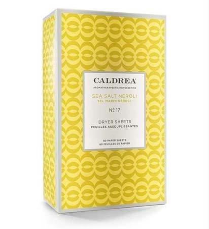 Caldrea Sea Salt Neroli Dryer Sheets Thumbnail