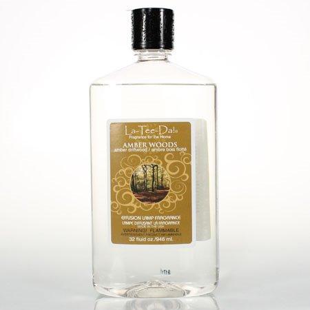 La Tee Da Fuel Fragrance Amber Woods - Amber Driftwood (32 oz.) Thumbnail