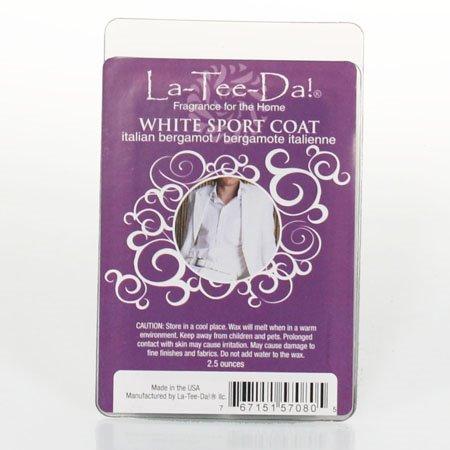 La-Tee-Da Wax Melts White Sport Coat - Italian Bergamot Thumbnail
