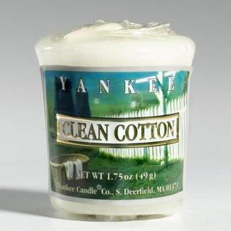 Yankee Candle Clean Cotton Votive Thumbnail