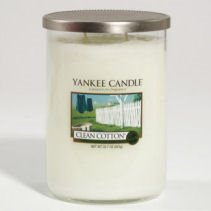 Yankee Candle Clean Cotton Large 2 Wick Cylinder Candle Thumbnail