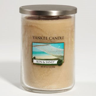 Yankee Candle Sun & Sand Large 2 Wick Cylinder Candle Thumbnail