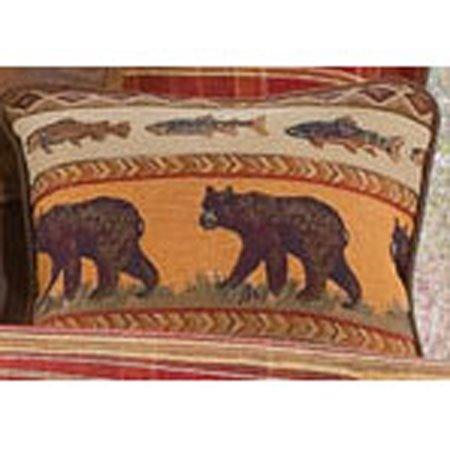Gatlinburg Bear Accent Pillow Thumbnail
