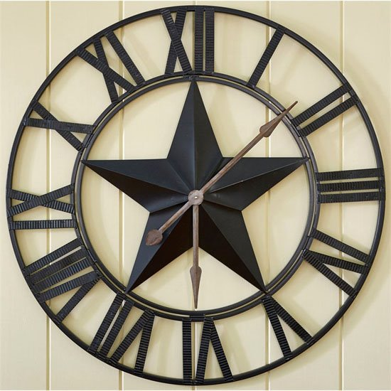 Star Wall Clock Thumbnail
