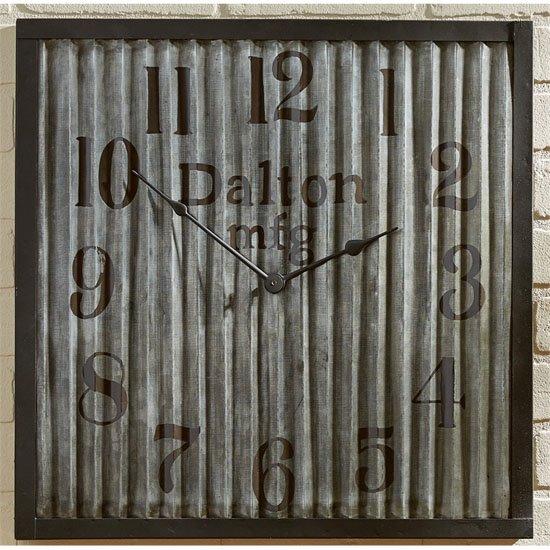 Galvanized Clock Thumbnail