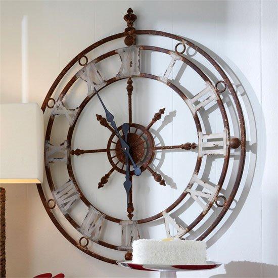Weathered Metal Clock Thumbnail