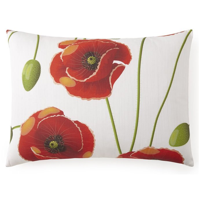 "Poppy Plaid Pillow Sham King - 20""x36"" - Each Thumbnail"