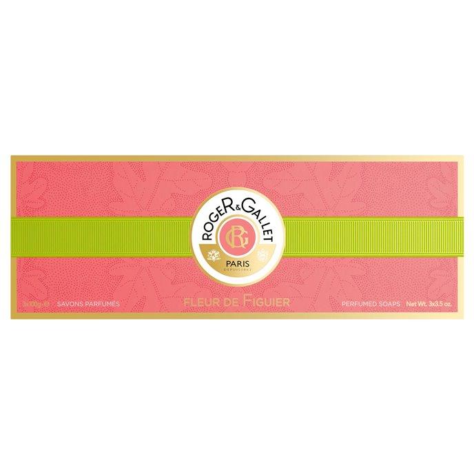 Roger & Gallet Fleur de Figuier Soaps Box of 3 (3 bars, each 3.5 oz., 100g) Thumbnail