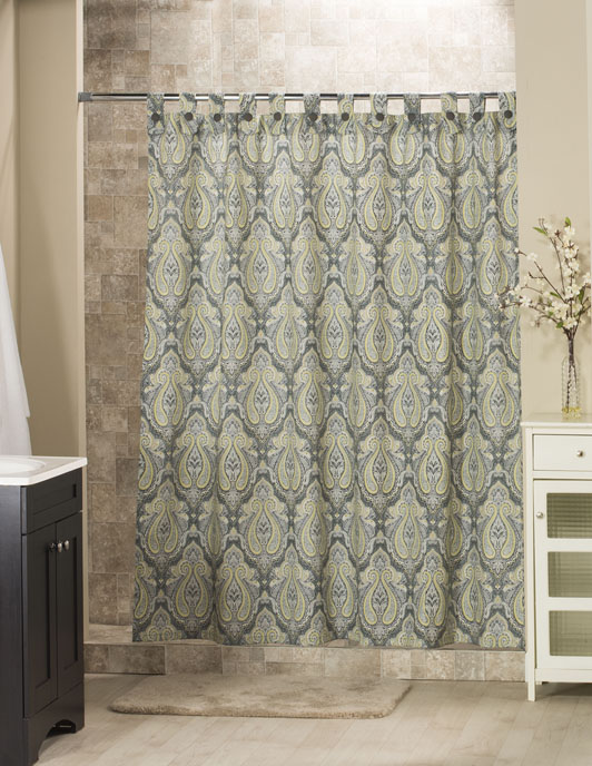 Park Avenue Tab Shower Curtain Thumbnail