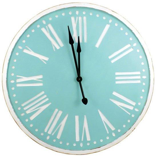 Spa Wood Clock 36 inch Thumbnail
