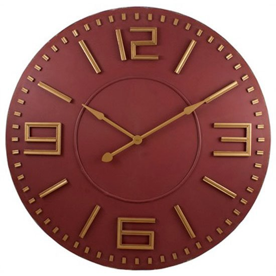 Mira Wood Clock 42 inch Thumbnail