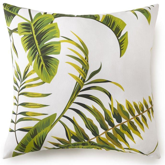 "Tropic Bay Square Cushion- Tropic Pattern 18""x18"" Thumbnail"