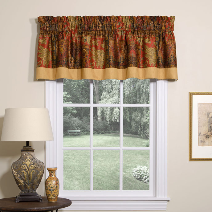 Kalinjar Tailored Valance with Band Thumbnail