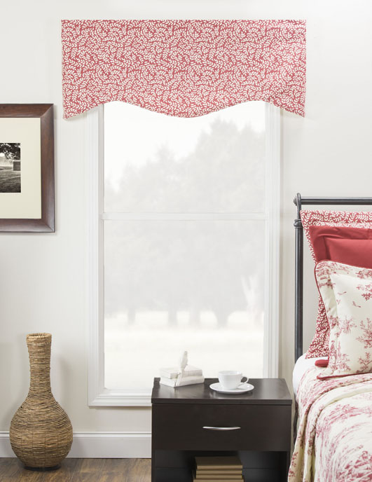 Bouvier Red Leaf Print Winston Valance Thumbnail