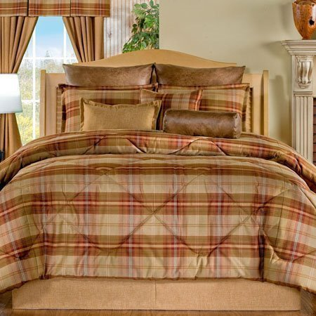 Yukon Queen size 9 piece Comforter Set Thumbnail
