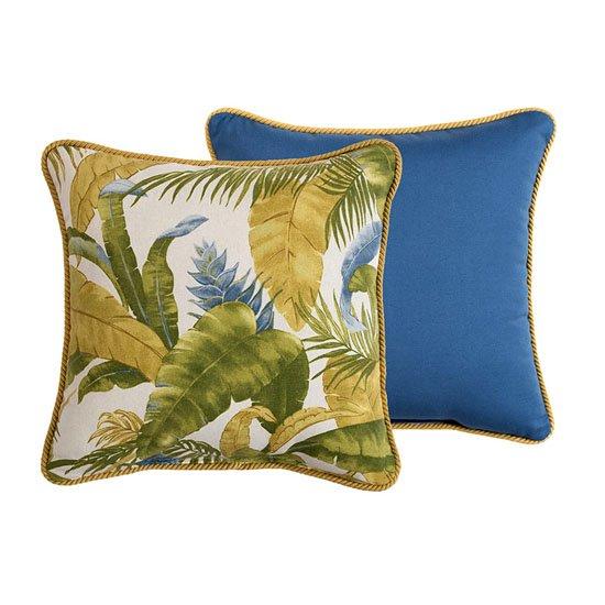 Cayman Square Pillow Thumbnail