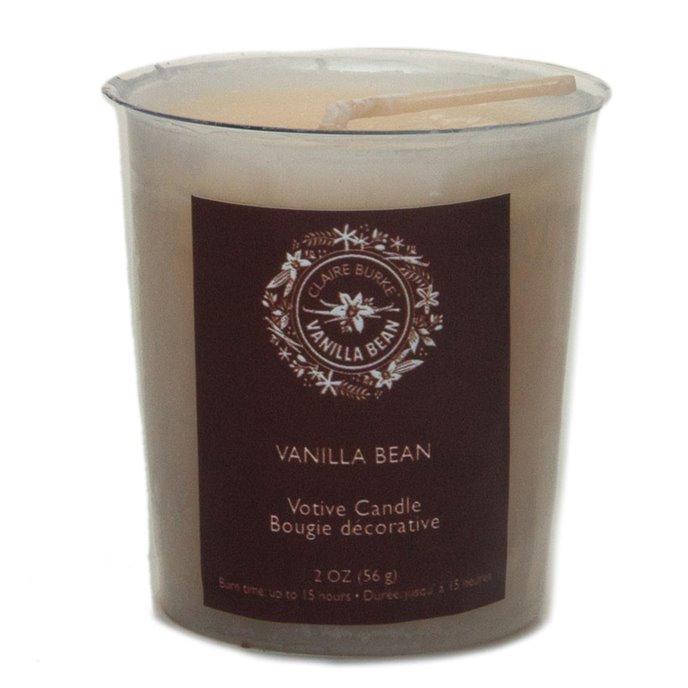 Claire Burke Vanilla Bean Votive Candle Thumbnail