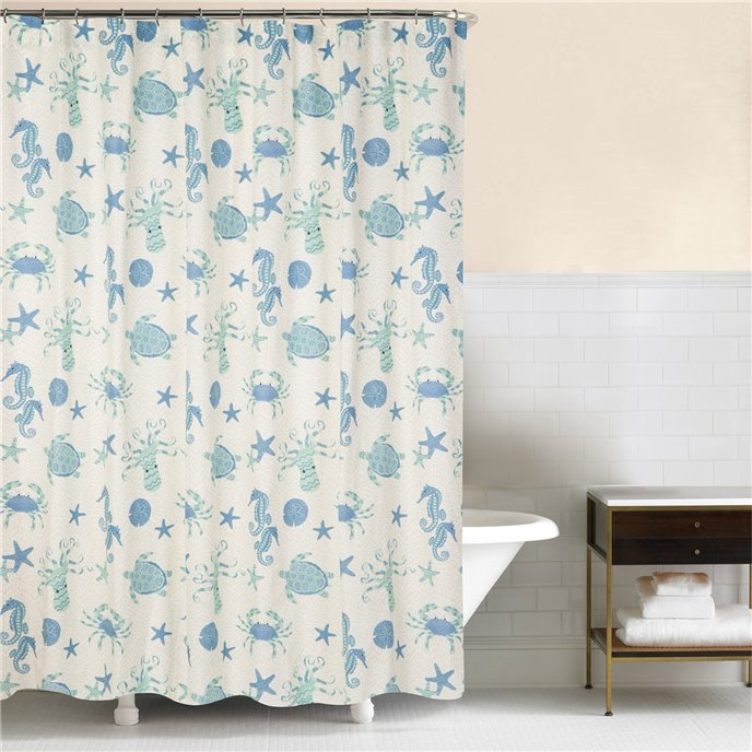 Brisbane Shower Curtain Thumbnail