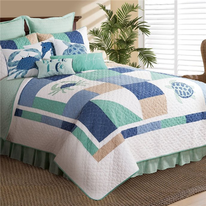 Macleay Island Full Queen Quilt Thumbnail
