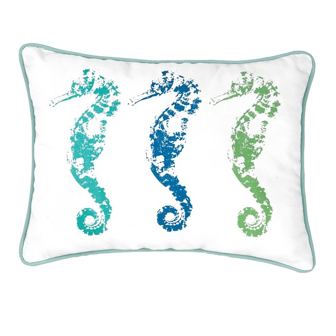 3 Seahorses Pillow Thumbnail