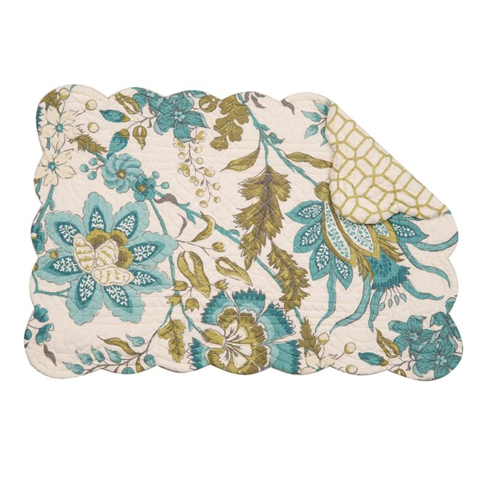 Adrienne Meadow Rectangular Quilted Placemat Thumbnail