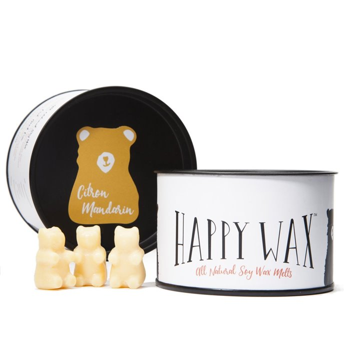 Happy Wax Citron Mandarin Wax Melts Thumbnail