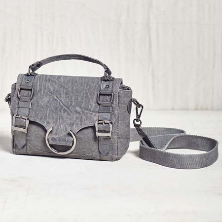 Mona B. Vogue Mini Canvas Crossbody Thumbnail