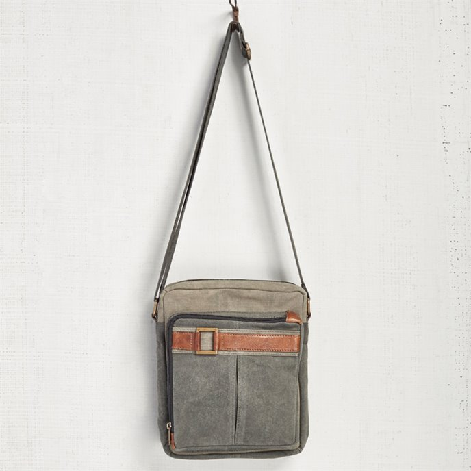 Mona B. Parker Canvas Crossbody Bag Thumbnail