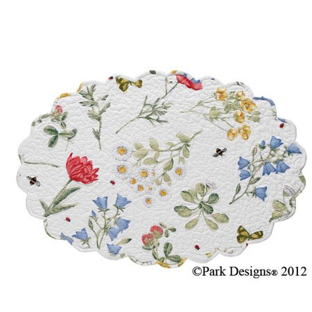 Wildflower Placemat Oval Thumbnail